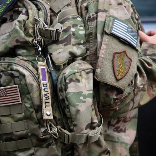 Key Tag for Military & First Responder